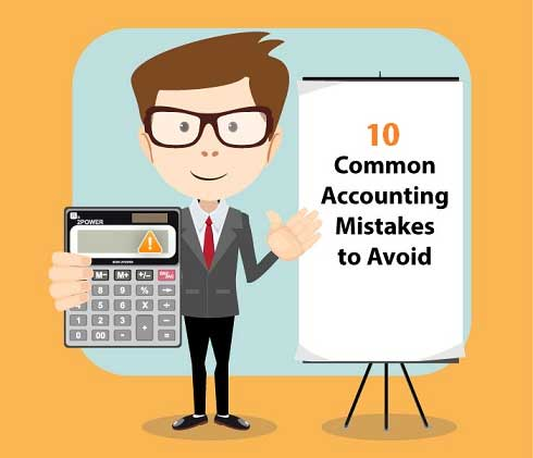common accounting  mistakes