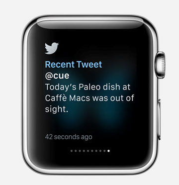 Twitter on Apple watch