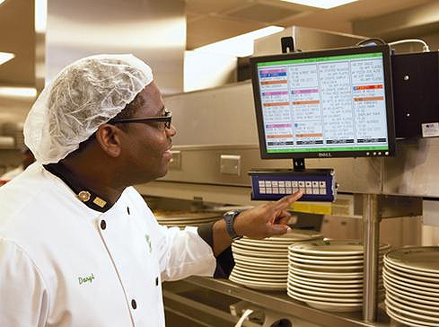 Restaurant Kitchen Order Display smart city: use of business analytics in smart restaurant.