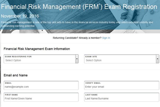 FRM Exam