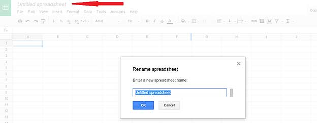 How to rename Google spreadsheet