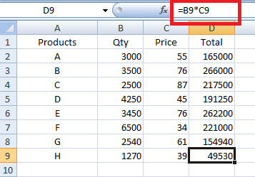 when to use relative cell reference in Excel