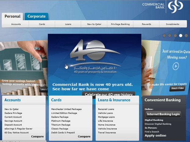 slider of a website