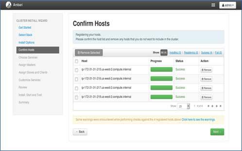 Hadoop installation using Ambari