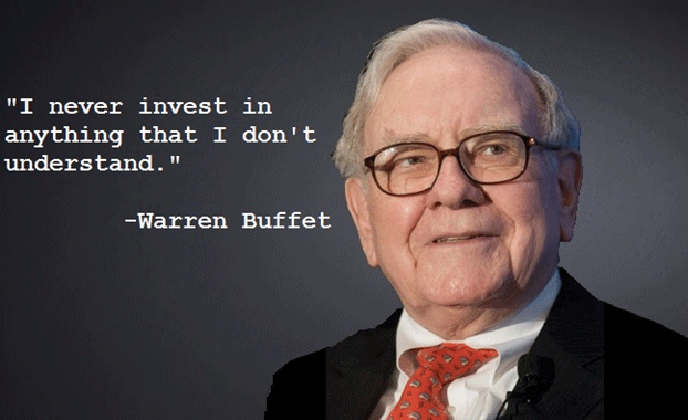 quote on  investment by Warren Buffet
