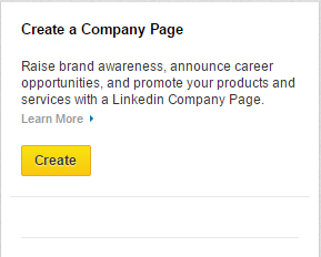 creating company page on  linkedin