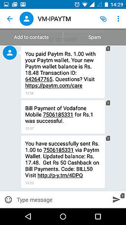 paytm mobile marketing