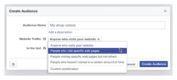 Customize remarketing features
