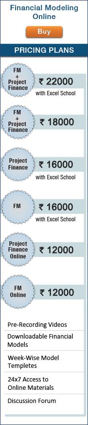 Financial Modeling Online